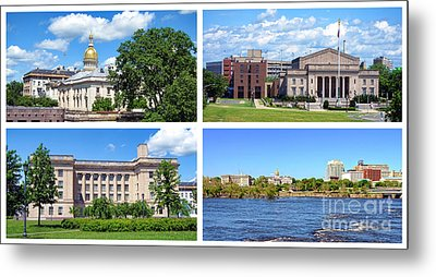 Trenton New Jersey Metal Print by Olivier Le Queinec