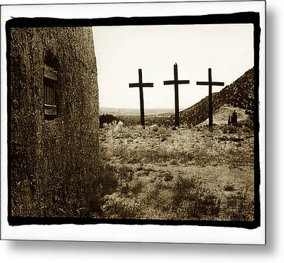 Tres Cruces New Mexico Metal Print