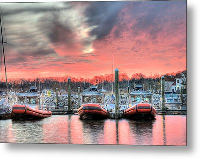 Tres Gunboats Metal Print by JC Findley