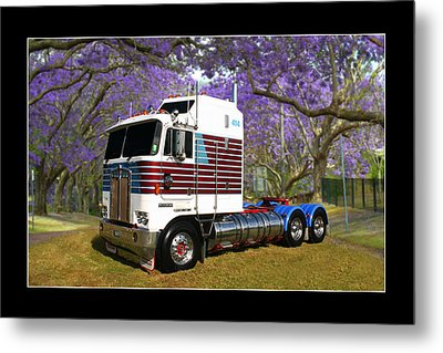 Metal Print featuring the photograph Trev's Kenworth by Keith Hawley