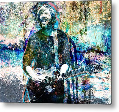 Trey Anastasio - Phish Original Painting Print Metal Print