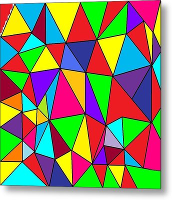 Triangles # 6 Metal Print