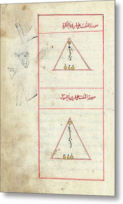 Triangulum Constellation Metal Print by Library Of Congress