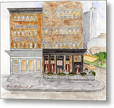 Tribeca Metal Print by AFineLyne