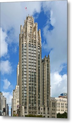 Tribune Tower - Beautiful Chicago Architecture Metal Print by Christine Till