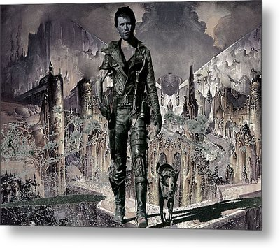 Tribute To Mad Max Metal Print by Francis Erevan