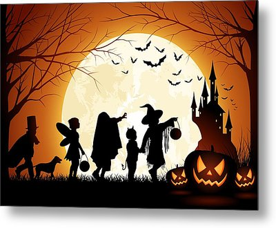Metal Print featuring the photograph Trick Or Treat by Gianfranco Weiss