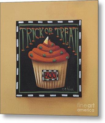 Trick Or Treat Metal Print by Catherine Holman