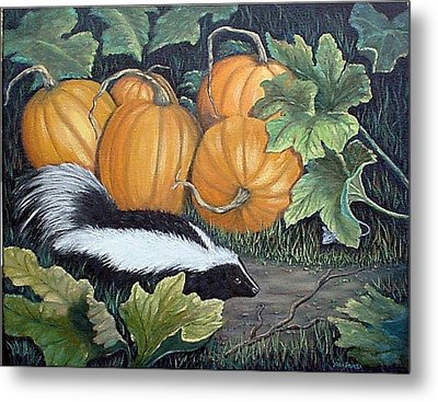 Trick Or Treat Metal Print by Fran Brooks