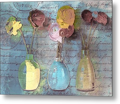 Triflorus - S02ac4 Metal Print by Variance Collections