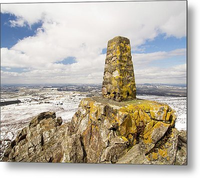 Trig Point Metal Print by Ashley Cooper