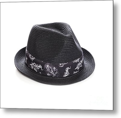 Trilby Hat Metal Print by Colin and Linda McKie