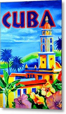 Trinidad Cuba Metal Print by Victor Minca