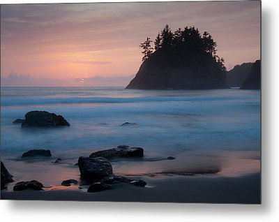 Trinidad Sunset - Another View Metal Print by Mark Alder