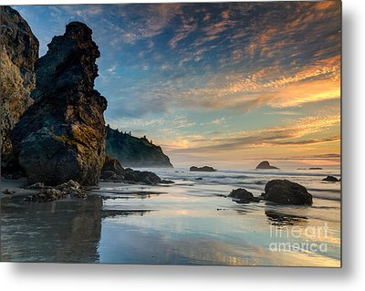 Trinidad Sunset Metal Print