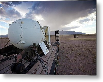 Trinity Atomic Bomb Test Site Metal Print by Peter Menzel