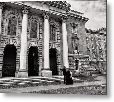 Metal Print featuring the photograph Trinity College Examination Hall by Menega Sabidussi
