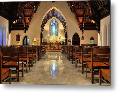 Trinity Episcopal Church Metal Print by Dan Myers