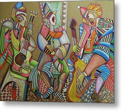 Trio To The Throne Metal Print by Anatoliy Sivkov