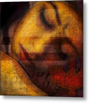 Triple Seduction Metal Print