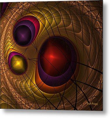 Triple Yin Yang  Metal Print by Coqle Aragrev