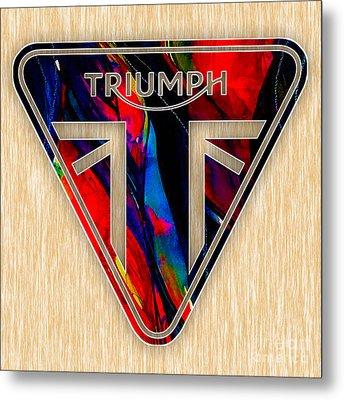 Triumph Cycles Metal Print
