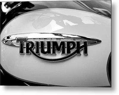 Triumph Fuel Tank Metal Print
