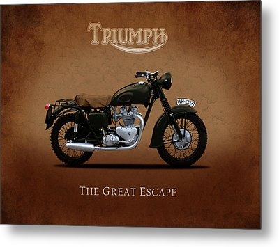 Triumph - The Great Escape Metal Print by Mark Rogan