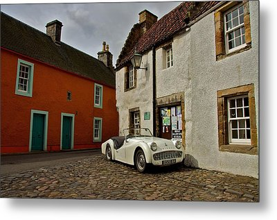 Metal Print featuring the photograph Triumph Tr3 by Stephen Taylor