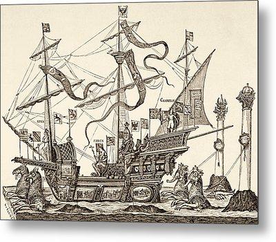 Triumphal Vessel Metal Print