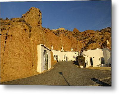 Troglodyte Caves Metal Print by Guido Montanes Castillo