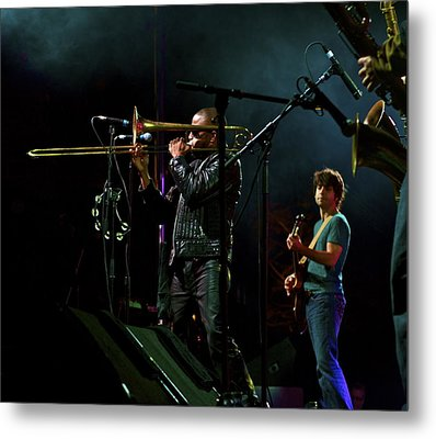Trombone Shorty Metal Print