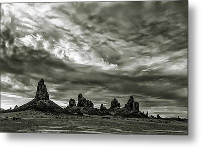Trona Pinnacles Metal Print