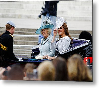 Trooping The Colour 2012 Metal Print by Dutourdumonde Photography