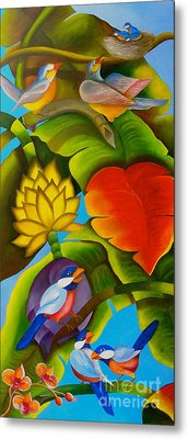 Tropic Metal Print by Fanny Diaz
