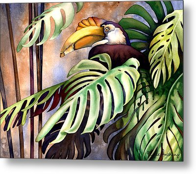 Tropic View Metal Print by Lyse Anthony