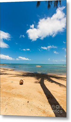 Tropical Beach Koh Samui Thailand Metal Print by Fototrav Print