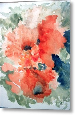 Tropical Bliss Metal Print by Trilby Cole