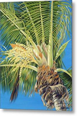 Tropical Bloom Metal Print by Danielle  Perry