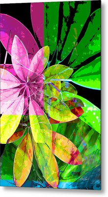 Tropical Delight Two Metal Print by Ann Powell