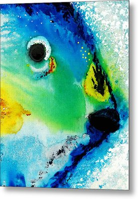 Tropical Fish 2 - Abstract Art By Sharon Cummings Metal Print by Sharon Cummings