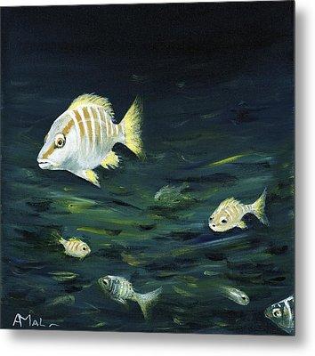 Tropical Fish Metal Print by Anastasiya Malakhova