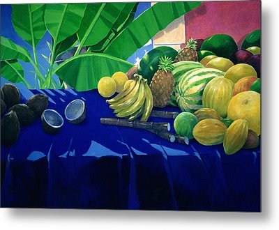 Tropical Fruit Metal Print by Lincoln Seligman