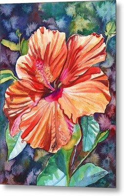 Tropical Hibiscus 5 Metal Print