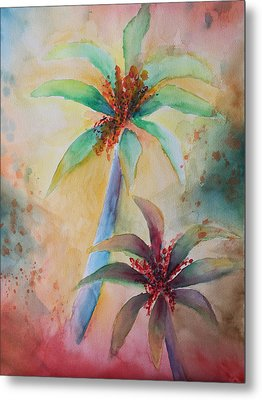 Tropical Image Metal Print by Karin Eisermann