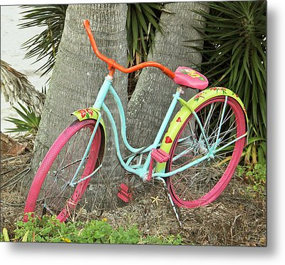 Metal Print featuring the photograph Tropical Ride by Rosemary Aubut