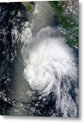 Tropical Storm Hernan Metal Print