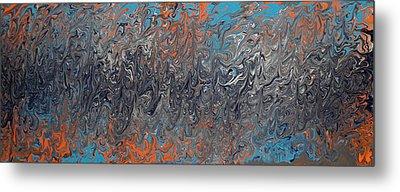 Trouble 2 Nite Metal Print by Cyryn Fyrcyd