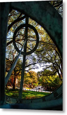 Troup Square Armillary Metal Print by Gestalt Imagery