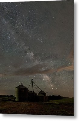 Troy Milky Way Metal Print by Latah Trail Foundation